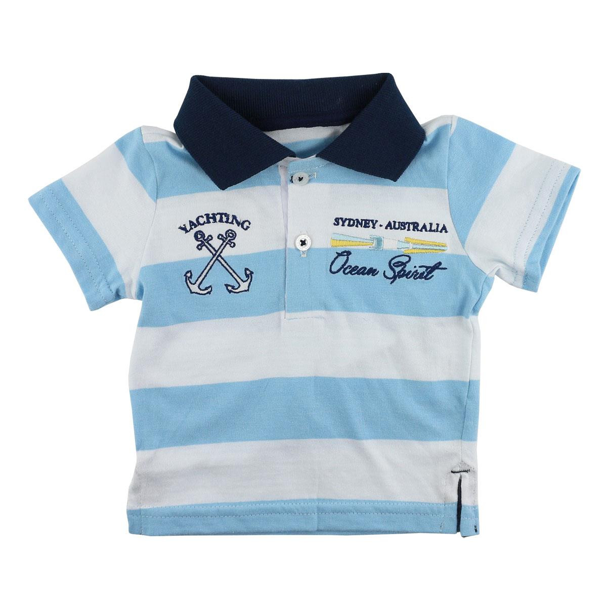 CAMISETA POLO PARA BEBÊ YACHTING MINI & KIDS