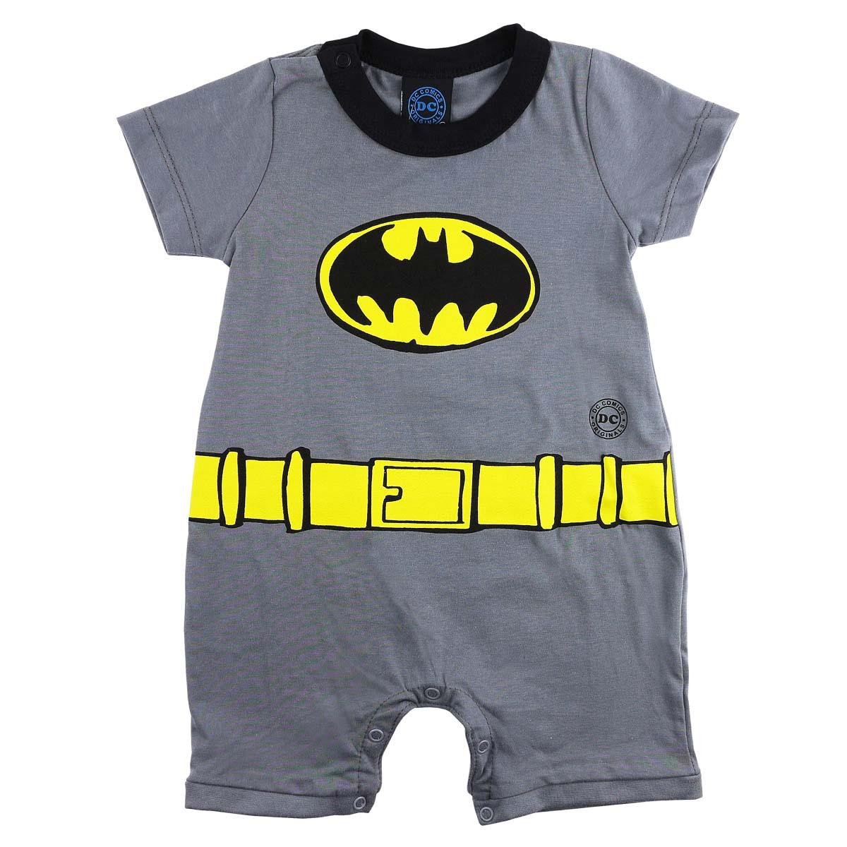 MACACAQUINHO DO BATMAN BABY KAMYLUS