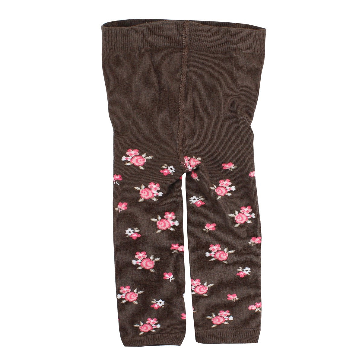 MEIA LEGGING MORROM FLORAL BABY LUPO