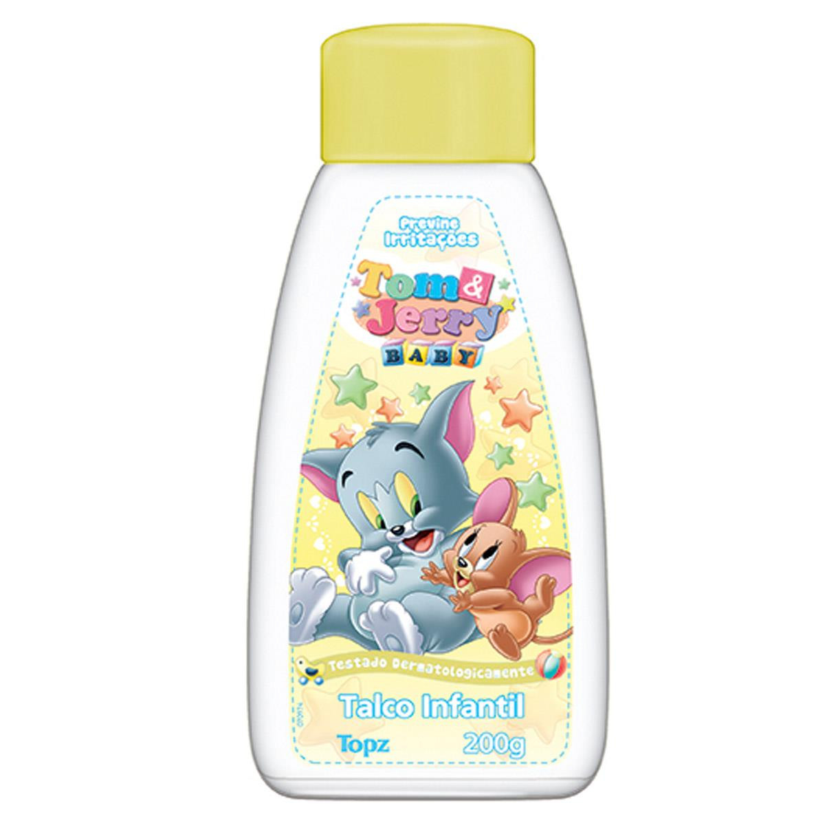 TALCO INFANTIL TOM AND JERRY
