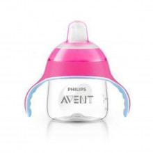 COPO AVENT PINGUIM 200ML ROSA PHILIPS