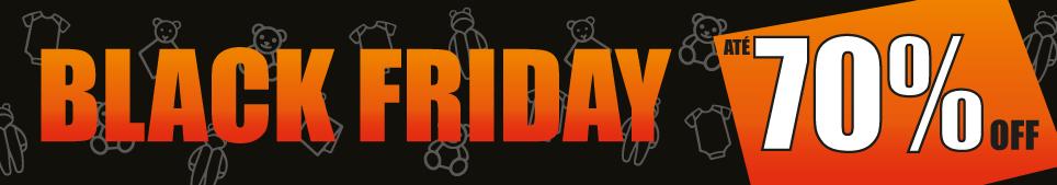 Black Friday Macacões a partir R$7,99